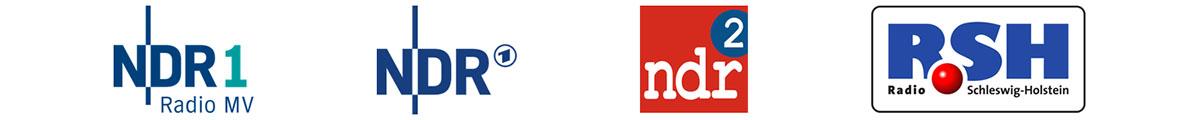 Logos Referenzen, NDR, NDR Sommertour, NDR2, RSH