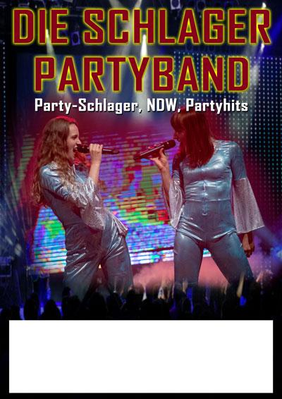 Poster Version 1 mit zwei Sängerinnen und Publikum